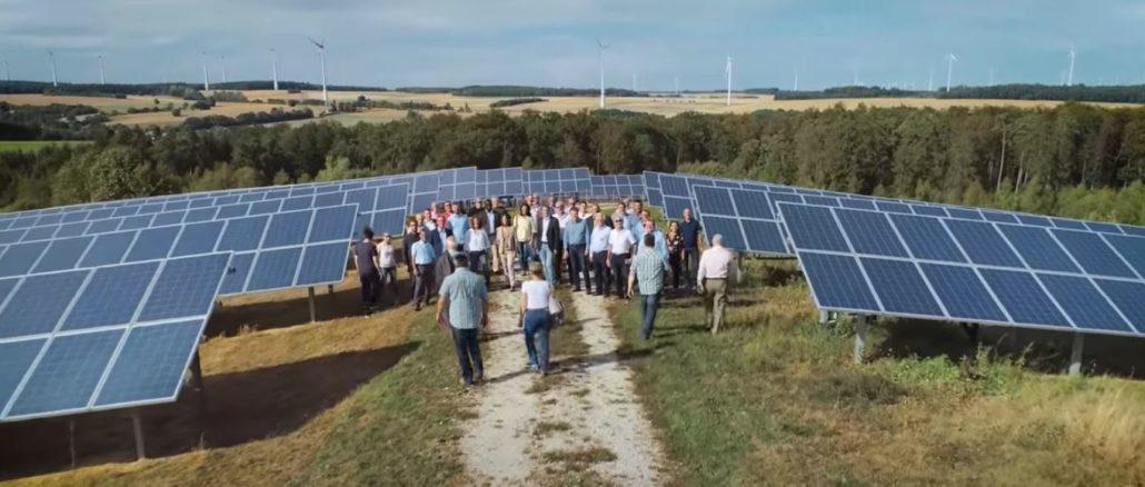 Solaranlagen und Windräder im Rhein-Hunsrück-Kreis