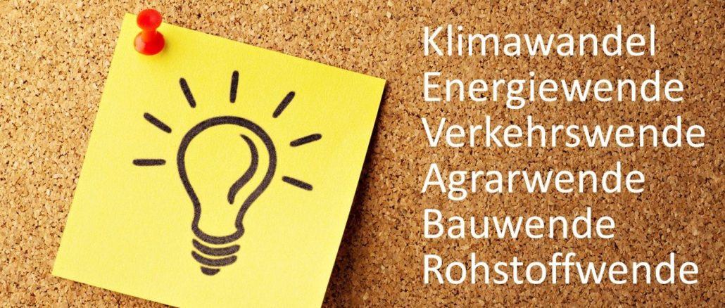 Kurzinformationen Klimawandel, Energiewende, Klimapolitik, Elektromobilität, Windkraft, Atomkraft, Zukunft